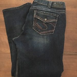Silver Jeans. Slim boot. Stretch fit. Size 16/33